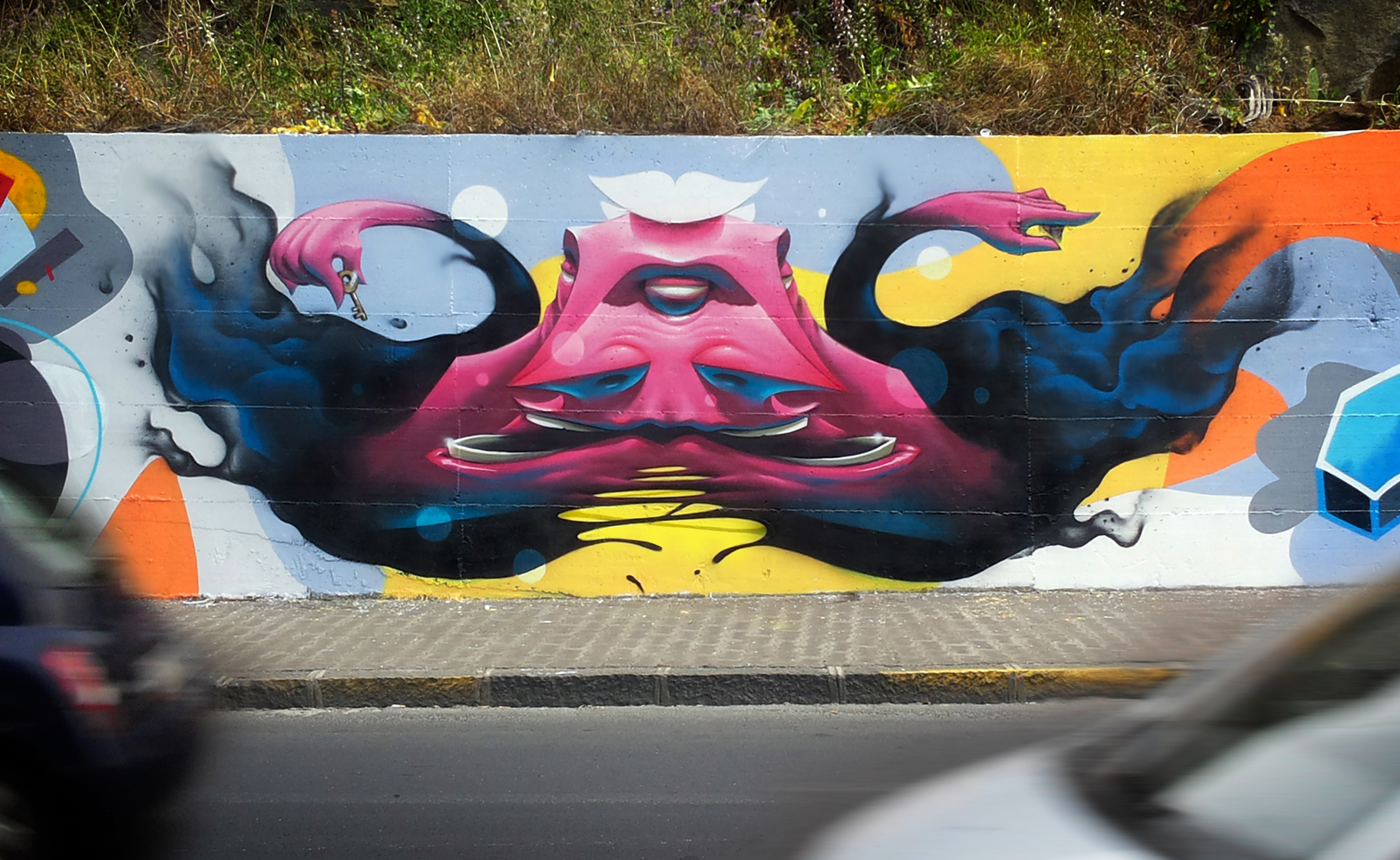Mr.Pera walls graffiti jnd